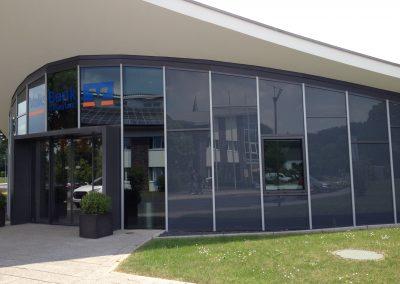 Fassade-Konstruktion | Volksbank in Bedburg-Hau